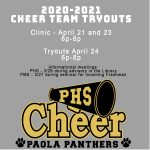 20-21 Cheer Team Tryouts