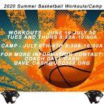 Updated Summer Basketball Schedule
