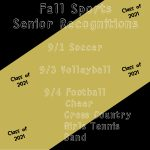 Fall Sports Senior Recognitions