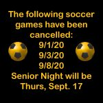 Important PHS Soccer Updates