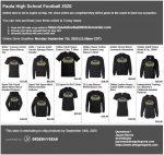 PHS Football Online Store