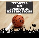 New Spectator Restrictions and tickets for home events starting Friday, Jan. 29th.