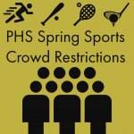 Spectator Limits HAVE BEEN LIFTED for outdoor Spring Sports at Paola High and Middle Schools.