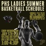 PHS Ladies Summer Basketball