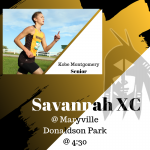 Cross Country Game Day!