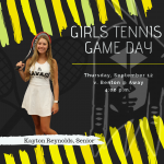 Tennis Game Day!