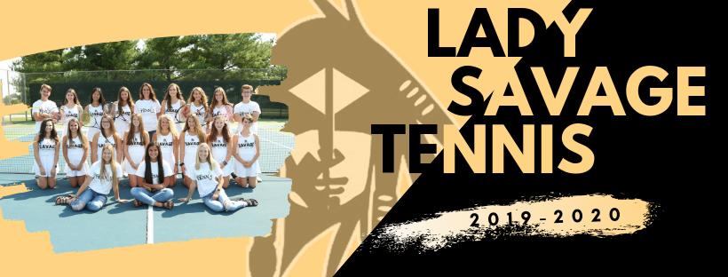 Lady Savage Tennis!