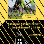 Savage Soccer Game Day