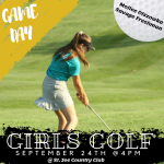 Girls Golf Game Day!