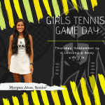 Girls Tennis Game Day