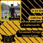 Savage Soccer @ Lutheran