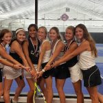 Savannah Girls Tennis wins 3rd at the Benton Tournament