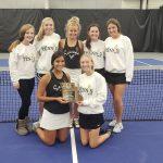 Savannah Girls Tennis places 2nd at districts