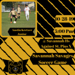 Savage Soccer Against St. Pius X