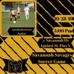 Savage Soccer Against St. Pius X