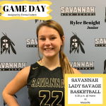 Lady Savage Game Day!