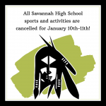 Cancelled Sports and Activities for January 10th-11th