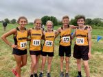 4 out of 5 freshman place in first varsity Cross Country meet.