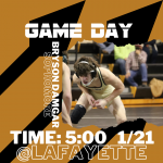 Good luck wrestling!