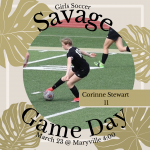 Good Luck Lady Savages!