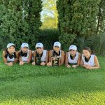 Girls Varsity Golf finishes 1st place at Miller Girls Golf Invitational