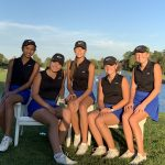 Girls Varsity Golf finishes 1st place at Woodland Invitational