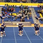 Varsity Competitive Cheer finishes 1st place at State Prelims