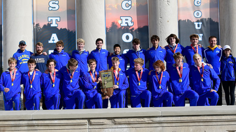 Boys Cross Country State Runners-Up