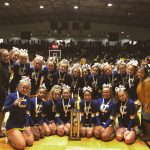 Varsity Competitive Cheer finishes 3rd place at State Finals