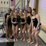 Girls Swimming & Diving Wins MIC Championship!