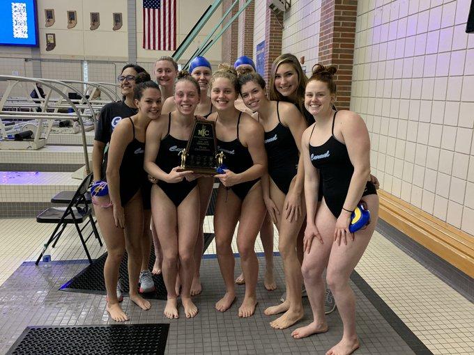 Girls Swimming & Diving Wins MIC Championship!