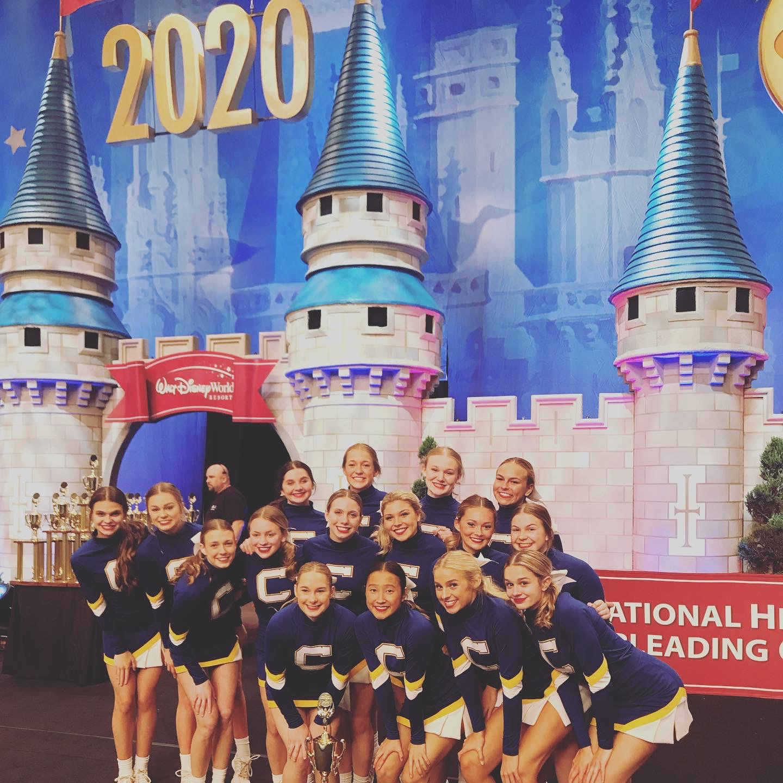 Cheerleaders finish top 10 at Nationals