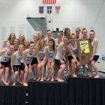 Girls Swimming & Diving wins #34 in a Row!