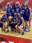 Girls Freshman Basketball beats Fishers in Hamilton County Championship 34 – 26