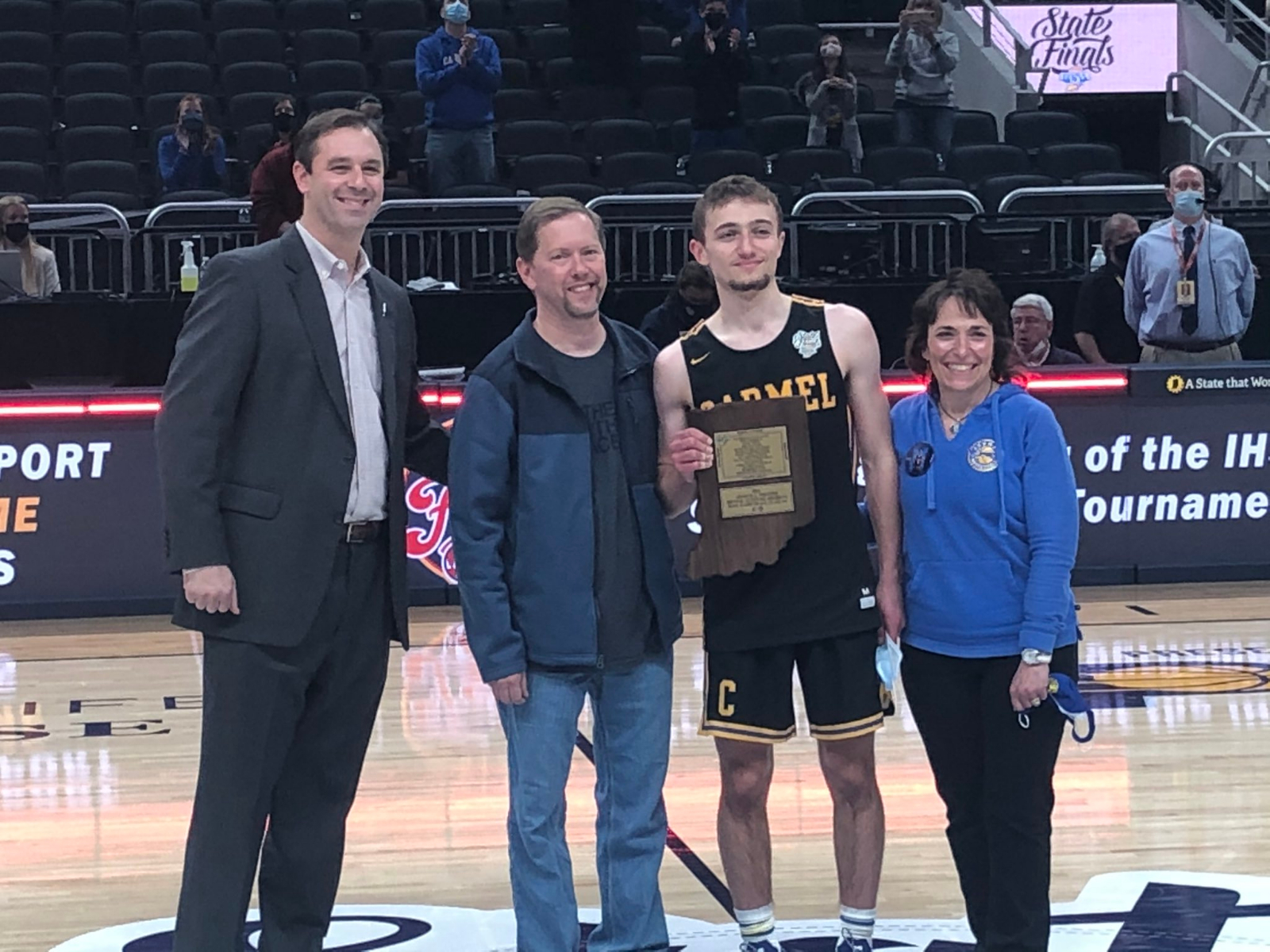 Connor Gioia Named Arthur Trester Award Recipient