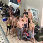 Boys Swim Fast at State Prelims