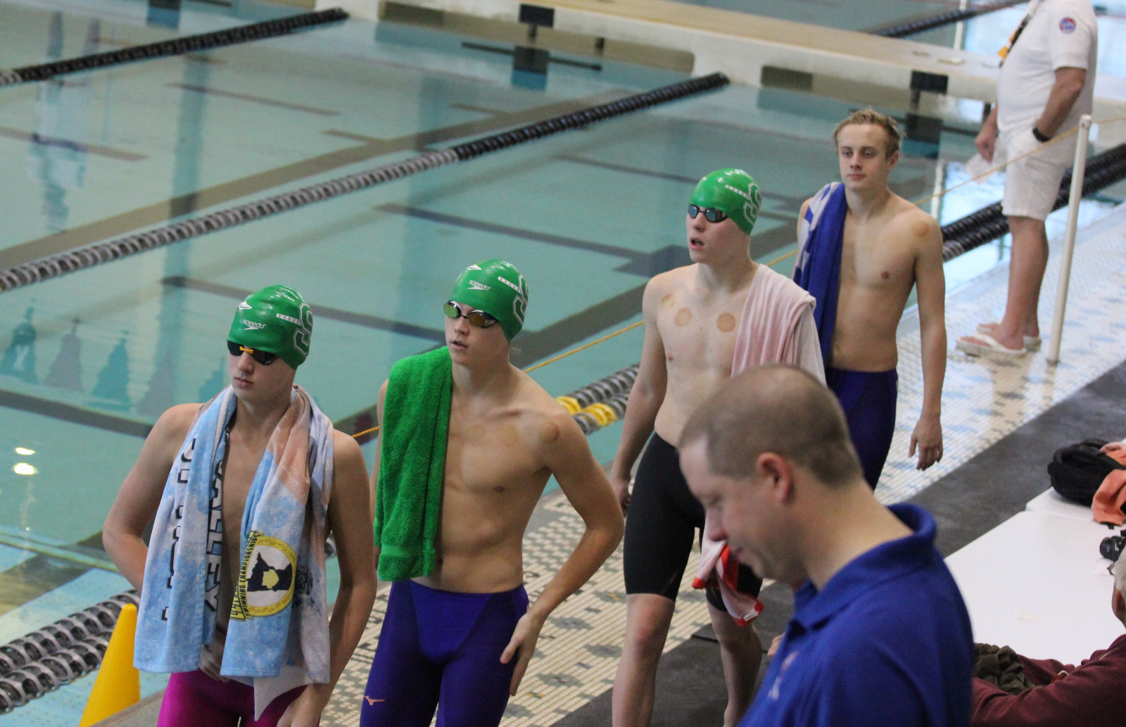 Boy's Swim Team Finishes Eighth at State Championship