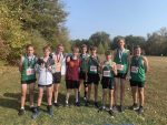 Cross Country JV travels to Jesse James Park to compete in Kearney Invitational