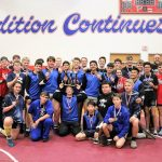 Junior Varsity Wrestling finishes 1st place at District Tournament