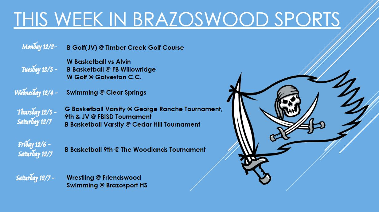This Week In Brazoswood Sports