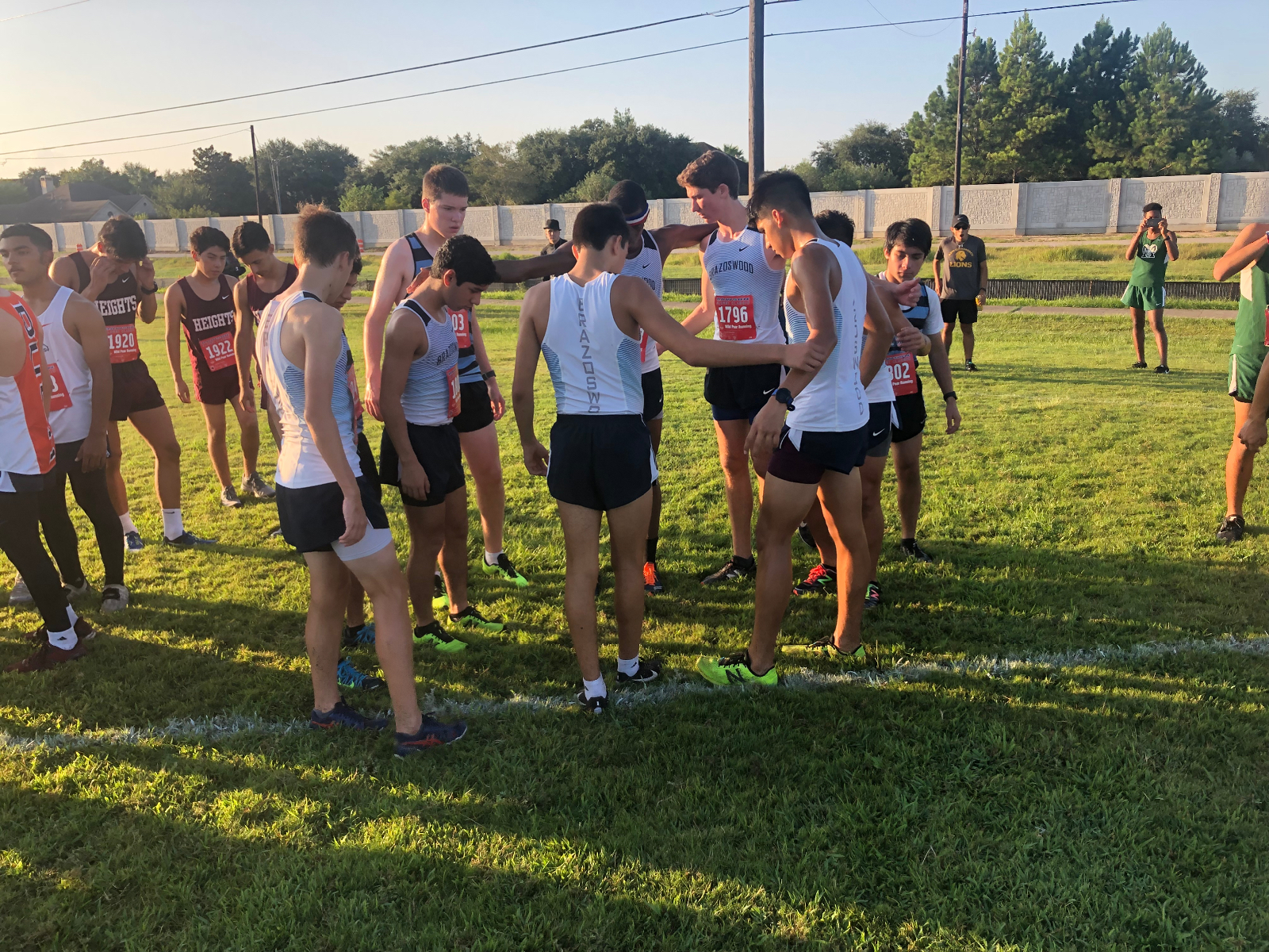 Brazoswood Cross Country 7 lakes Invitational