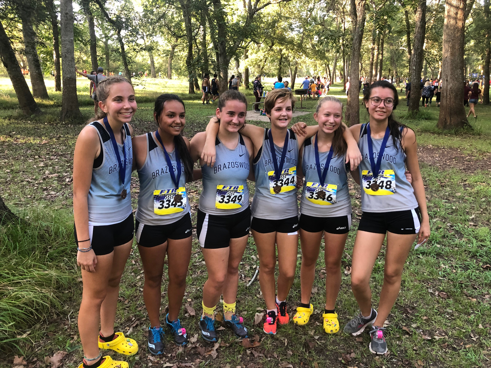 Brazoswood Cross Country @ Needville Invitational