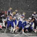 Spartans Football Battle for Big Win on Senior Night