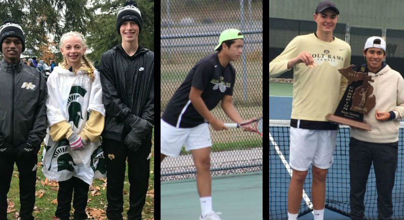 Rams well represented in Cross Country and Boys Tennis Dream Team selections