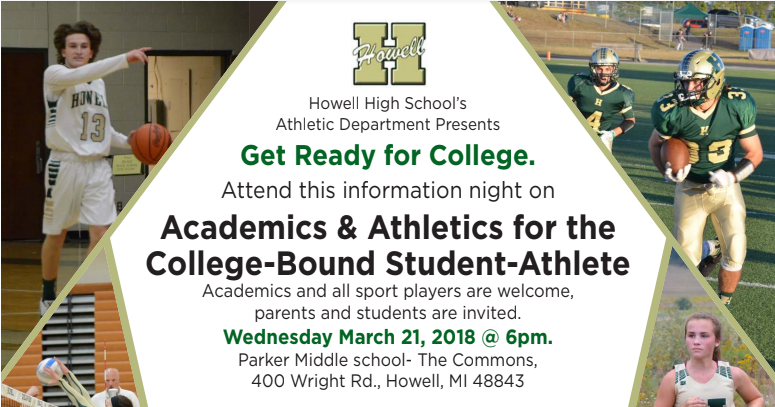 Howell High School hosting seminar for College-Bound Student-Athletes