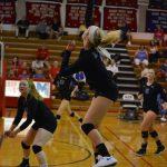 Girls Varsity Volleyball beats Olathe Northwest 25-16, 25-11