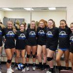 Girls Freshman A Volleyball beats Shawnee Mission Northwest 25-8, 25-21