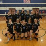 Freshman B Volleyball beats Blue Valley West 25-14, 25-16