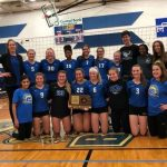 Volleyball wins the Substate Championship, defeats Olathe West (25-17, 25-11)