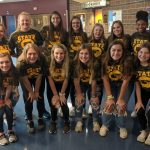 Varsity Volleyball falls to Washburn Rural 25-27, 19-25 in State Pool Play